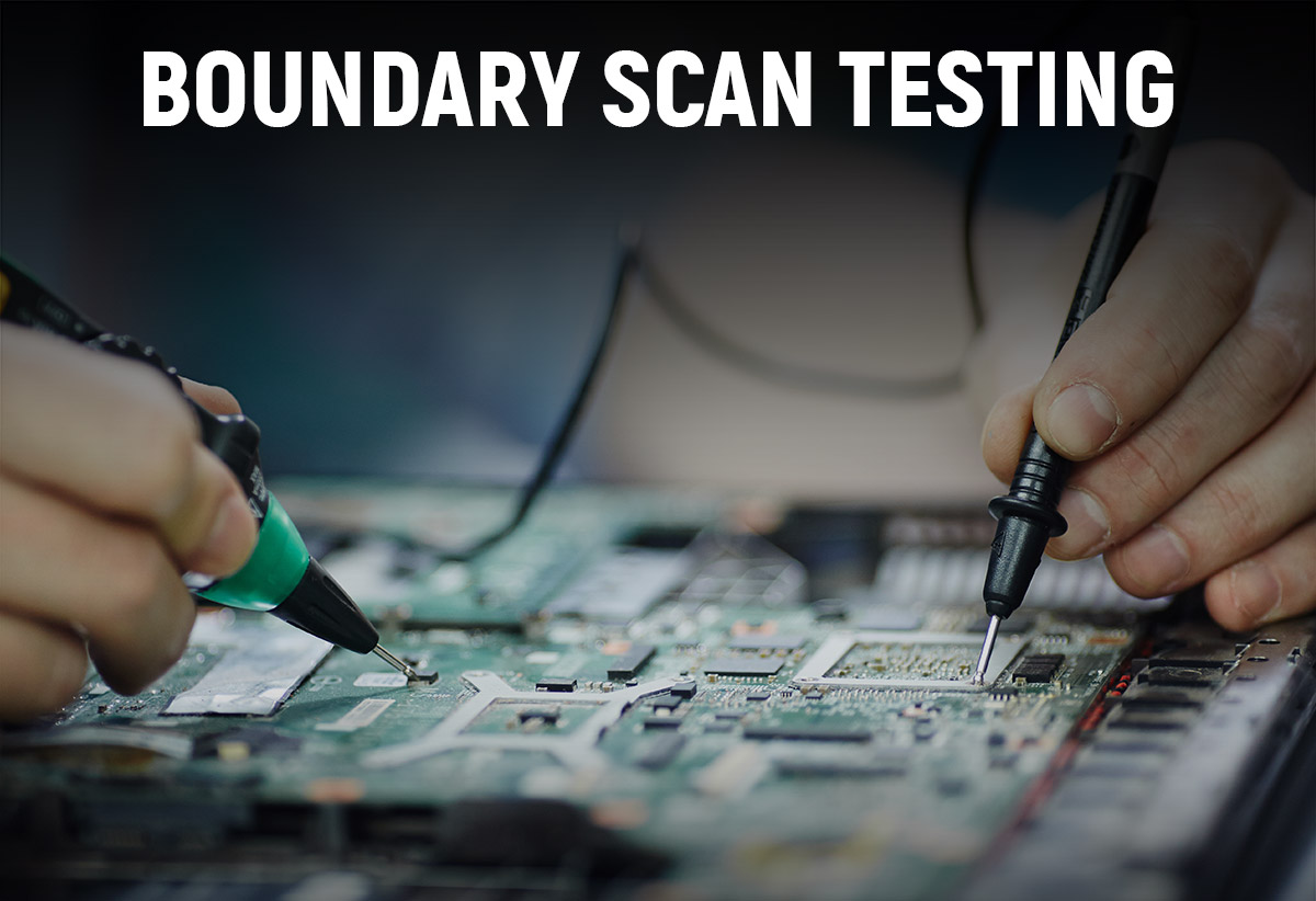 Boundry Scan Testing